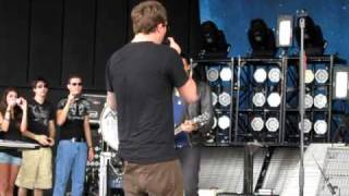 """Sirens"" soundcheck live by Angels and Airwaves in Pompano Beach, Florida"