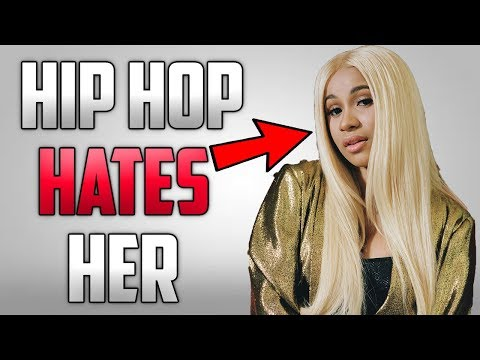 why does hip hop hate cardi b