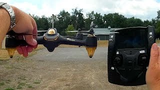 Hubsan H501S GPS Follow Me FPV Drone Park Flier Review