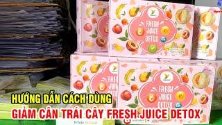 Giảm Cân Trái Cây Fresh Juice Detox Havyco