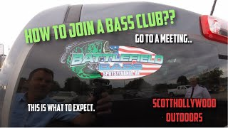 Do you want to join a Bass Fishing Club??