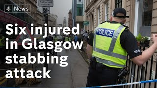 Suspect Shot Dead By Police After Six Injured In Glasgow Stabbing Attack