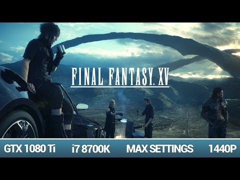 Final Fantasy XV Windows Edition Benchmark 1080TI - смотреть онлайн
