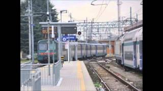 preview picture of video 'Annunci alla Stazione di Bergamo, con plinplon classico di Piona'