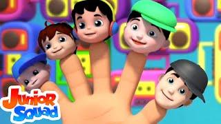 Junior Squad | Finger Family | Original Nursery Rhymes | Kids Songs