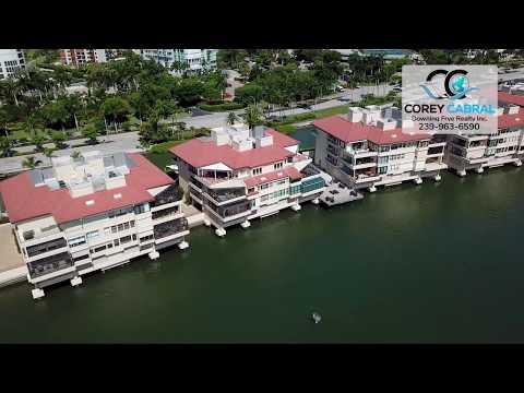 Park Shore Ardissone Villas Flyover in Naples, Florida