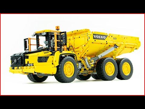 Vidéo LEGO Technic 42114 : Le tombereau articulé Volvo 6x6
