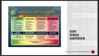 Laura McGladrey's Operation Green: Stress Injury series – VIDEO 3