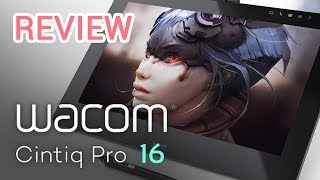 Wacom Cintiq Pro 16 Unboxing and REVIEW