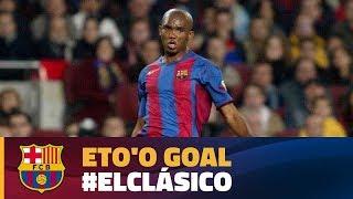 Best goal   El Clásico 2004   Eto