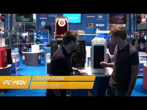 Gameswcom 2012: InWin GRone - Gehäuse für E-ATX-Mainboards