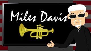 Biography on a Jazz Legend: Miles Davis. A Fun Cartoon Documentary for Music & Black History