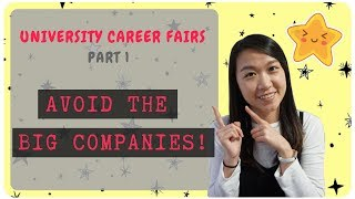 🌟 How To Get A Job At University Career Fairs   STAY AWAY, TECH GIANTS!   Part 1 🌟Berkeley CS Grad