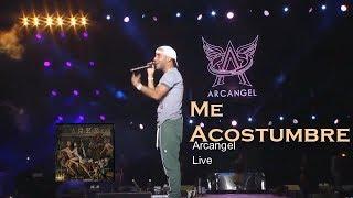 Arcangel - Me Acostumbre  (En vivo)