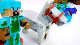 Секреты игры Майнкрафт - Стив строит дом на севере!