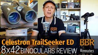 Celestron TrailSeeker ED 8x42 Binoculars Review
