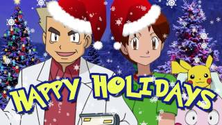 """Prof. Oak and Delia Ketchum sing """"I'm Giving Santa a Pikachu""""!"""