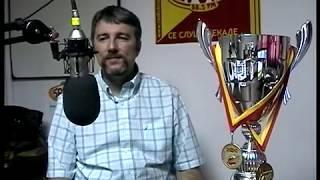 Denis Vujadinovic, trener na sampionskite odbojkarki od SVS Kumanovo