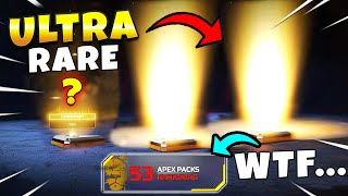 *NEW* INSANELY RARE APEX PACK OPENING!! NEW Apex Legends Funny & Epic Moments #494