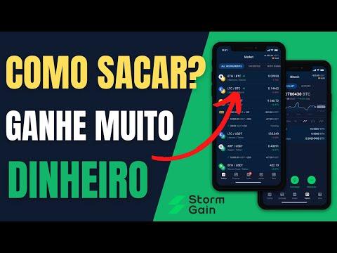 Como Sacar Dinheiro da StormGain | Como Ganhar Muito Dinheiro com Criptomoedas na StormGain