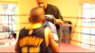 Alexandria Boxing Club Mitt Work