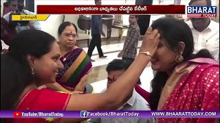 KTR Takes Oath As Working President After Taking Blessing From Kavitha | Exclusive