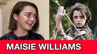 Game of Thrones Season 5 Arya Stark Interview - Maisie Williams