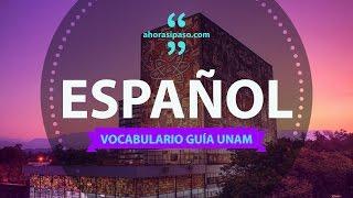 Guía UNAM | Español - Analogías y Sinónimos