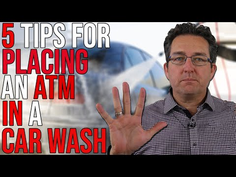 5 Tips When Placing An ATM In A Car Wash
