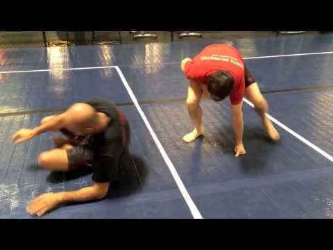 Sumi Gaeshi counter to Single Leg