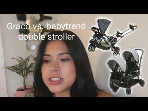 Review | babytrend and Graco sit and stand double strollers