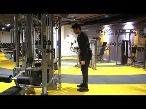 Cable One Arm Triceps Extension (supinated grip)