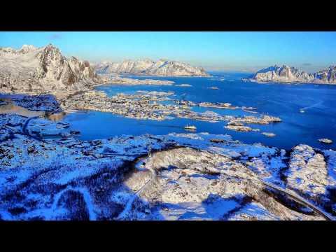Ser du hva som foregår i havna i Lofoten?