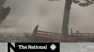 Typhoon Mangkhut slams China and the Philippines