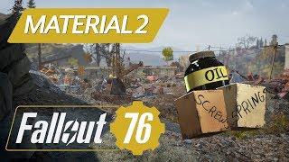 Fallout 76 - Schrauben, Federn, Öl, uvm. noch viel effizienter farmen!