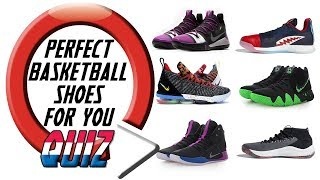 Find Perfect Basketball Shoes For You | NBA Quiz