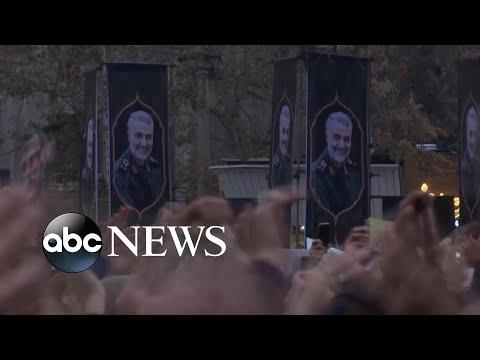 Thousands of Iranians protest after military forces shot down passenger jet l ABC News