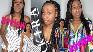 Akira Review | Clothing Haul and try on | Diamond Janae