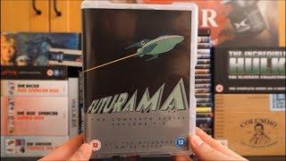 FUTURAMA - Season 1-8 (UK DVD Komplettbox) / Zockis Sammelsurium Nr. 897