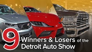 9 Winners & Losers from the 2019 Detroit Auto Show: The Short List