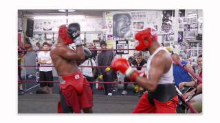 MMA Ultimate Set:  Anderson Silva Sparring at Wild Card Boxing Club