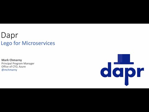 Dapr, Lego for microservices