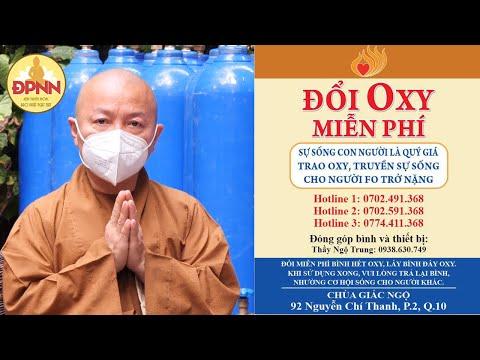"""Chương trình đổi oxy miễn phí: """"Trao oxy, truyền sự sống cho người F0 trở nặng"""""""