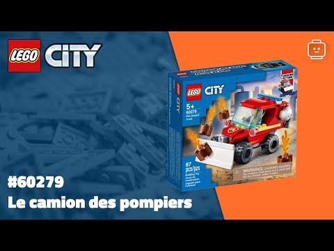 Vidéo LEGO City 60279 : Le camion des pompiers