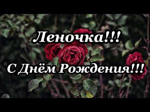 С Днём Рождения Леночка!