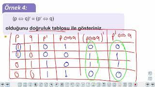 Eğitim Vadisi 9.Sınıf Matematik 3.Föy Mantık 1 Konu Anlatım Videoları
