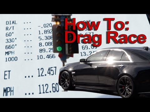 Taking your car to the drag strip - how to race and compete!