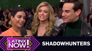 """""""Shadowhunters"""" Cast Practice Acceptance Speeches at 2018 E! PCAs 