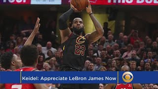 Keidel: Is LeBron Playing The Best Basketball Of His Career?