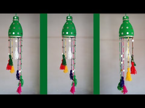 DIY: Plastic Bottle Crafts!!! How to Make Beautiful Waste Bottle Hanging For